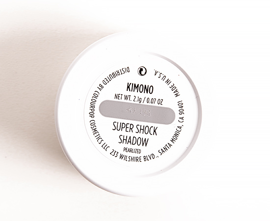 ColourPop Kimono Super Shock Shadow