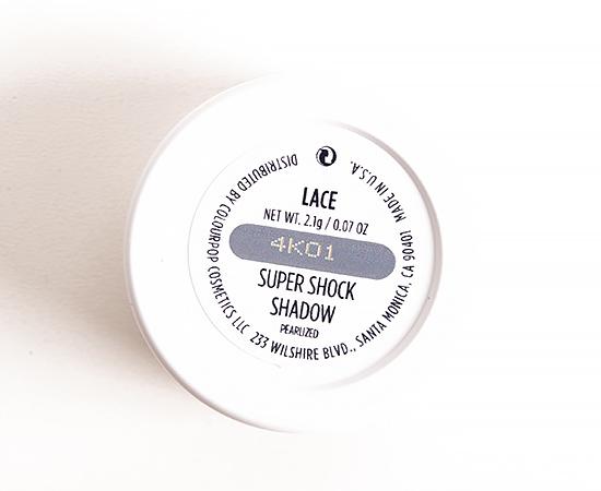 ColourPop Lace Super Shock Shadow
