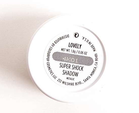 ColourPop Lovely Super Shock Shadow