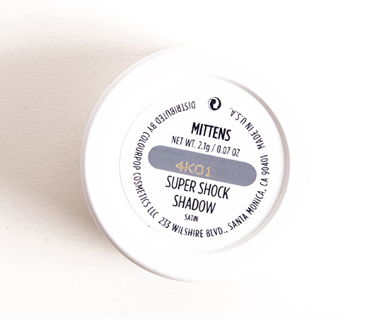 ColourPop Mittens Super Shock Shadow
