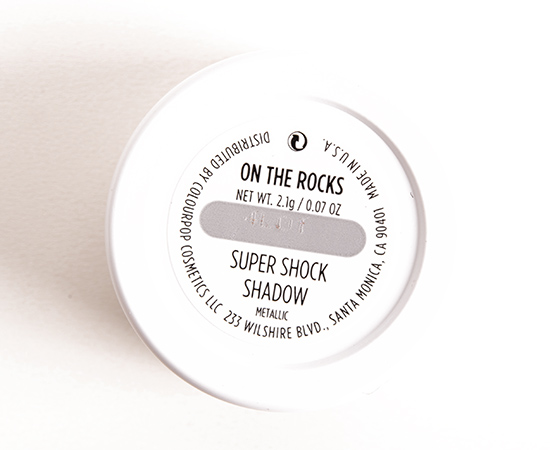 ColourPop On the Rocks Super Shock Shadow