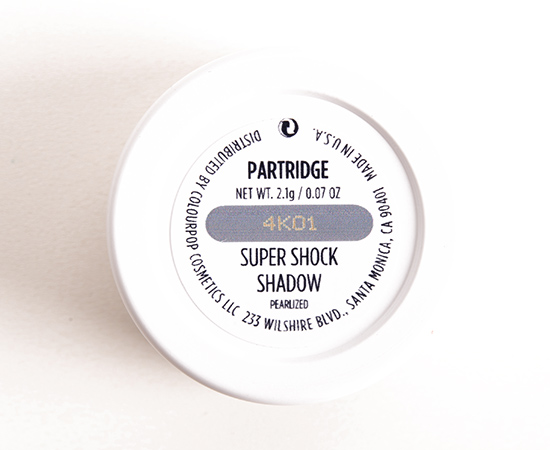ColourPop Partridge Super Shock Eyeshadow
