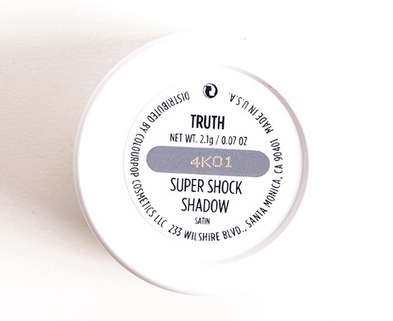 ColourPop Truth Super Shock Shadow
