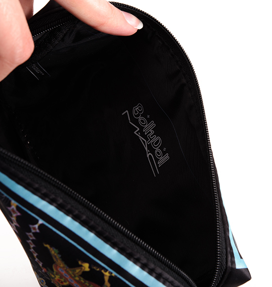 MAC x BollyDoll/Blue Makeup Bag