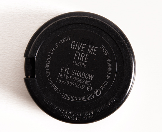 MAC Give Me Fire Eyeshadow
