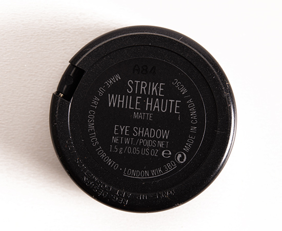 MAC Strike While Haute Eyeshadow