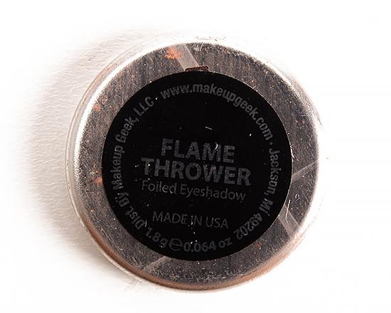Makeup Geek Flame Thrower Foiled Eyeshadow
