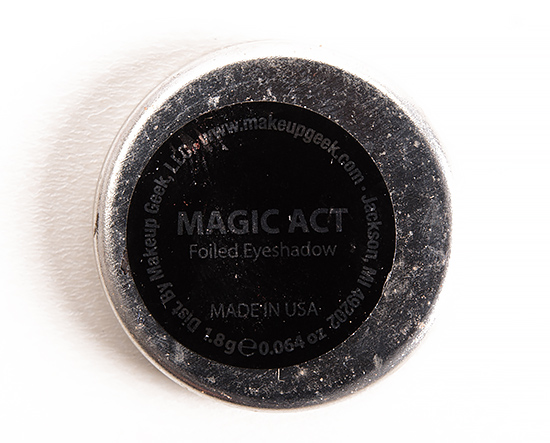 Makeup Geek Magic Act Foiled Eyeshadow