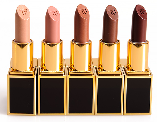 Tom Ford Holden, Beau, Henry, Gustavo, Pavlos Lip Colors