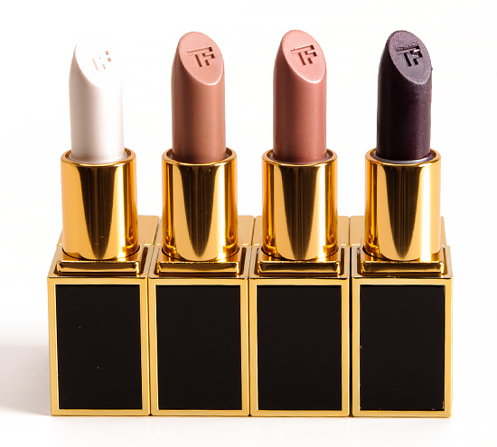 Tom Ford Casey, Orlando, Peter, Alasdhair Lip Colors