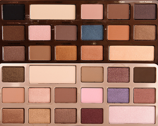 Sneak Peek Too Faced Semi Sweet Chocolate Bar Eye Palette