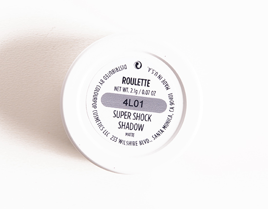 ColourPop Roulette Super Shock Shadow
