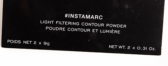 Marc Jacobs Beauty Hi-Fi Filter #Instamarc Light Filtering Contour Powder
