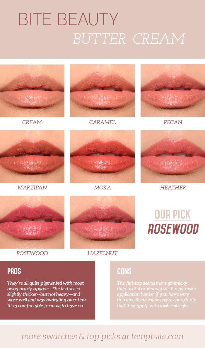 Bite Beauty Butter Cream Lipsticks