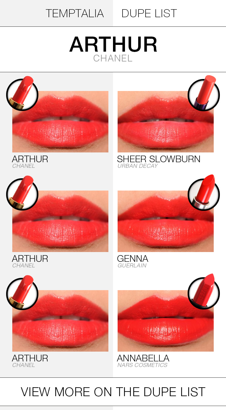 chanel-arthur-dupe-list