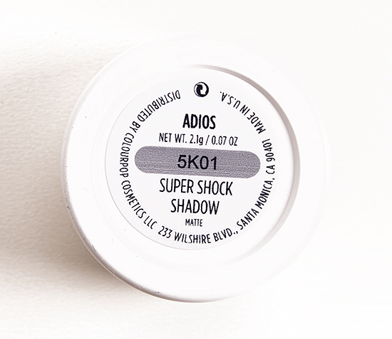 ColourPop Adios Super Shock Shadow