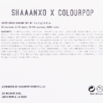 ColourPop Shaaanxo Super Shock Shadow Quad