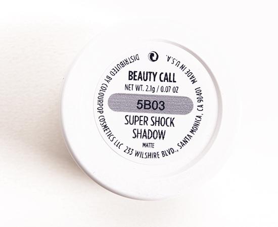 ColourPop Beauty Call Super Shock Shadow