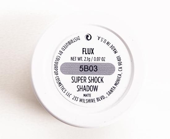 ColourPop Flux Super Shock Shadow