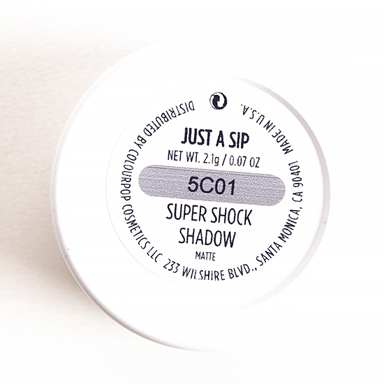 ColourPop Just a Sip Super Shock Shadow