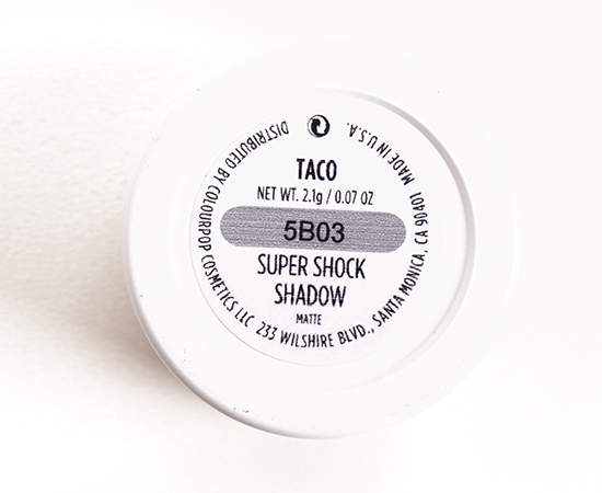 ColourPop Taco Super Shock Shadow