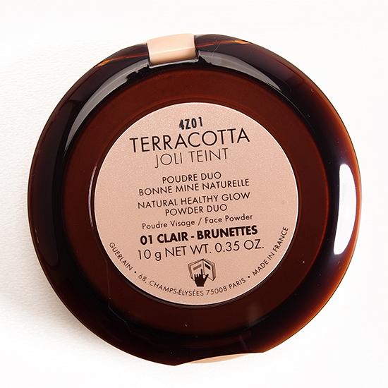 Guerlain Clair / Brunettes (01) Terracotta Joli Teint Powder Duo