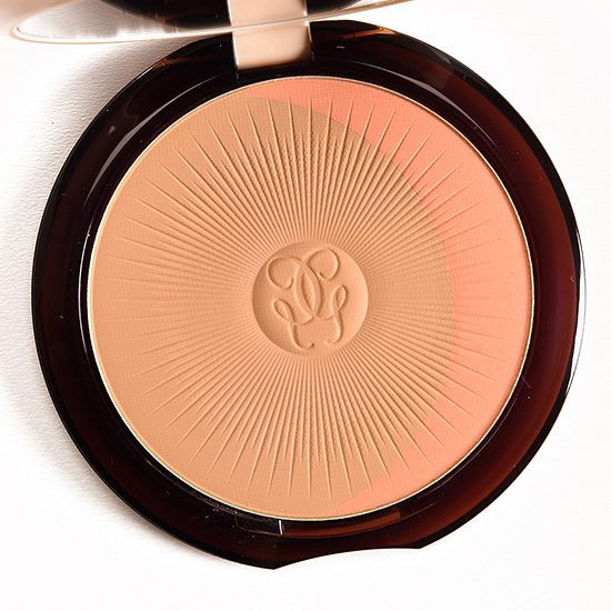 Guerlain Natural Brunettes 03 Terracotta Joli Teint Powder Duo Review Swatches