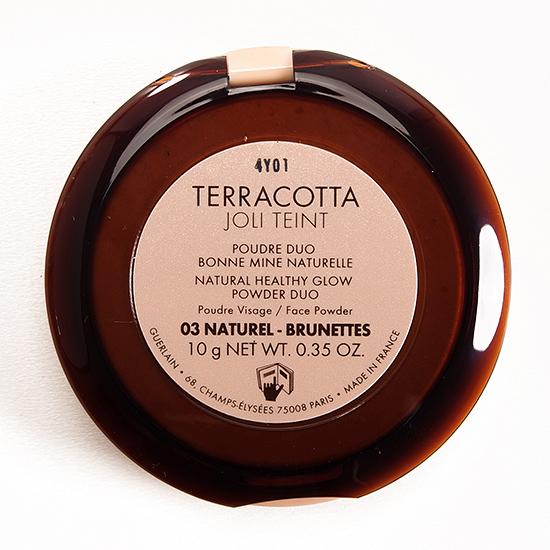 Guerlain Natural / Brunettes (03) Terracotta Joli Teint Powder Duo