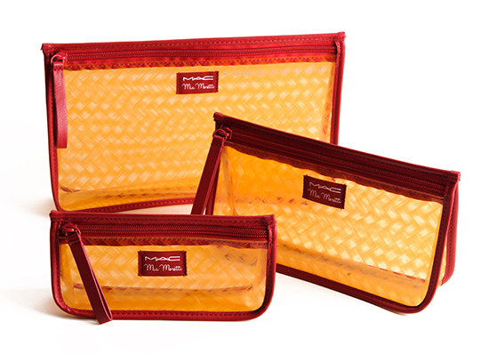 MAC x Mia Moretti Makeup Bags