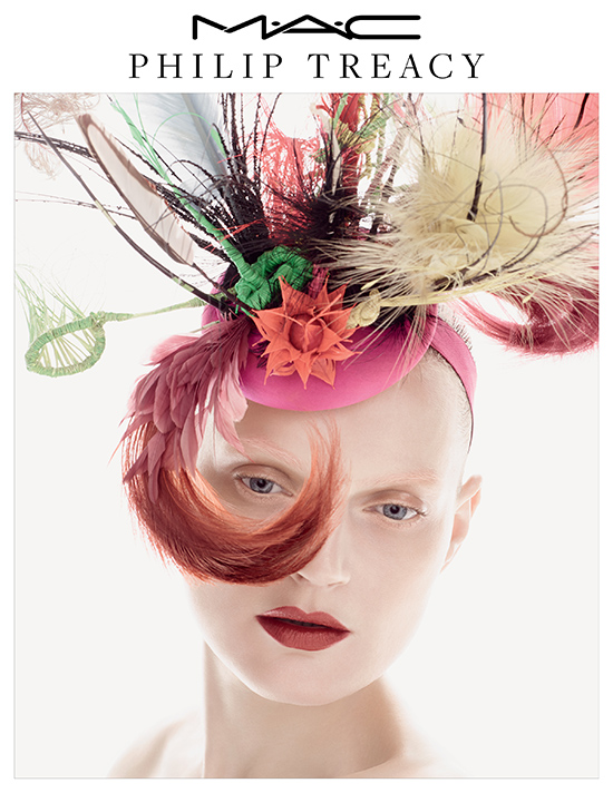 MAC x Philip Treacy for Spring 2015