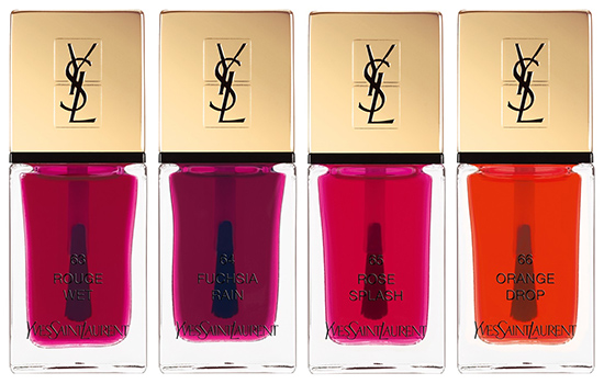 YSL Pop Water Collection for Spring/Summer 2015
