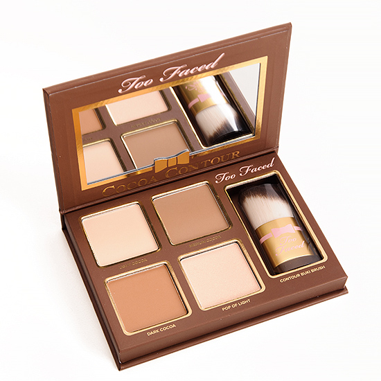 too faced cocoa contour light to medium. too faced cocoa contour chiseled to perfection palette light medium