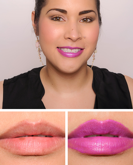 Too Faced Metallic Violet Melted Metal Liquified Lipstick