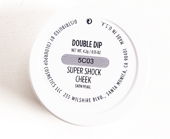 ColourPop Double Dip Super Shock Cheek