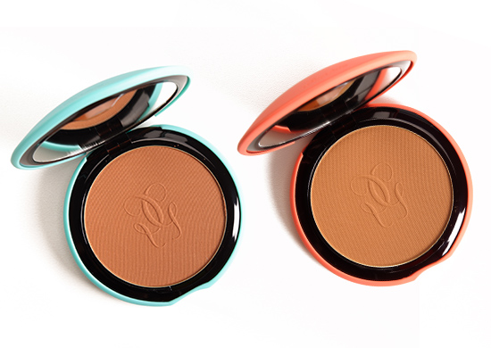Guerlain #02 and #03 Terracotta Bronzing Powders Reviews ...