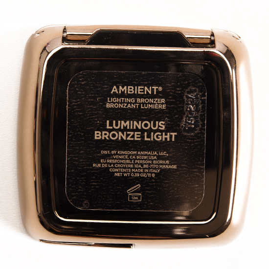 Hourglass Luminous Bronze Light Ambient Lighting Bronzer