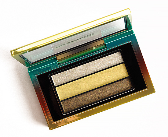 MAC Green Clean Veluxe Pearlfusion Eyeshadow Trio