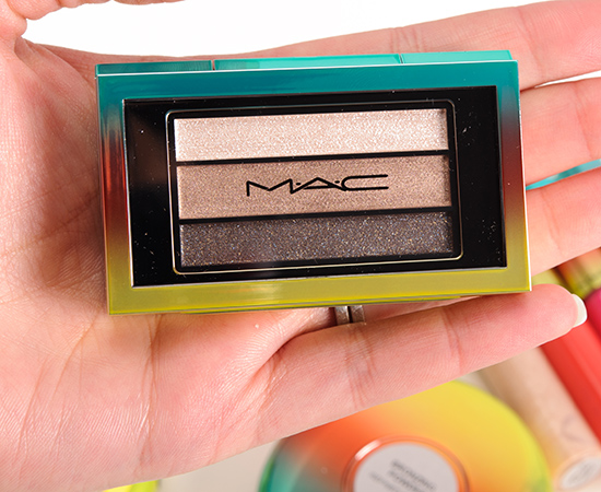 MAC Permanent Press Veluxe Pearlfusion Eyeshadow Trio