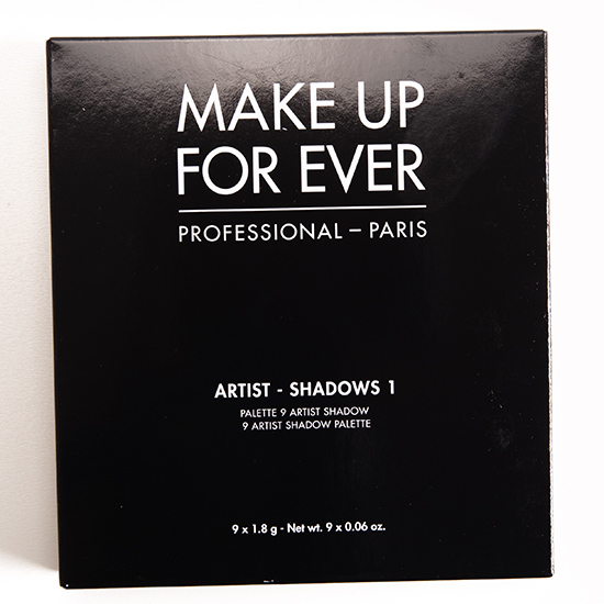 Make Up For Ever #1 (Nudes You Need) Artist Palette