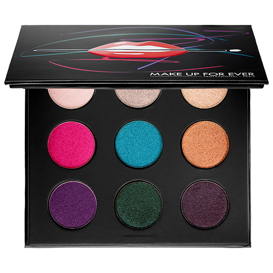 Make Up For Ever Electric Artist Palette for Summer 2015
