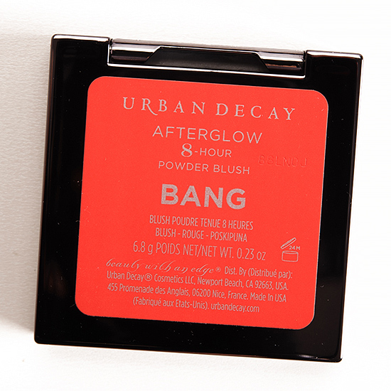 Urban Decay Bang Afterglow 8-Hour Blush