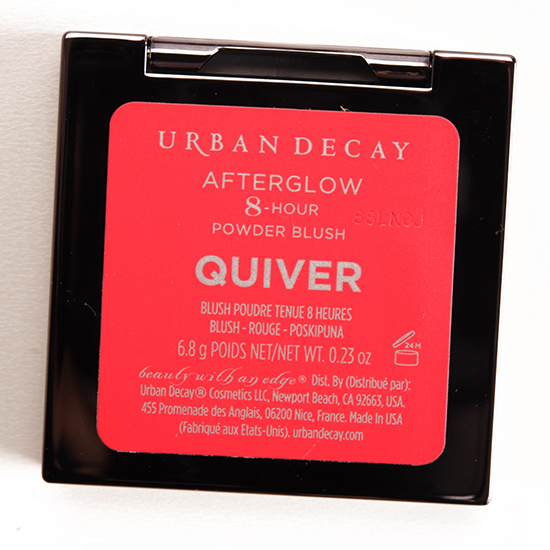 Urban Decay Quiver Afterglow 8-Hour Blush