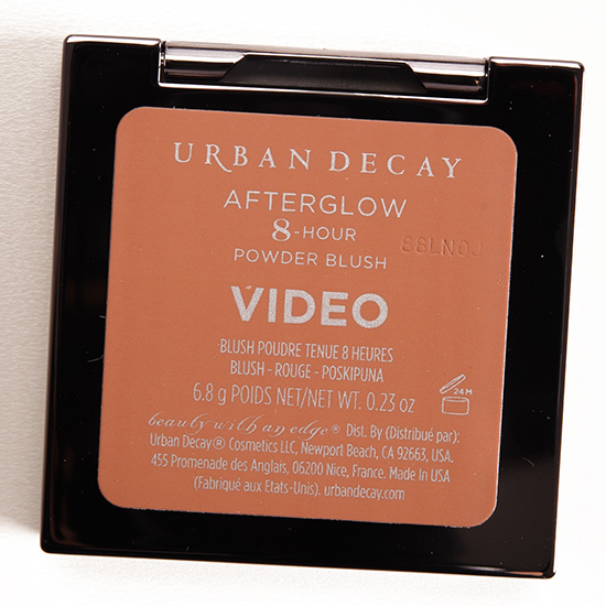 Urban Decay Video Afterglow 8-Hour Blush