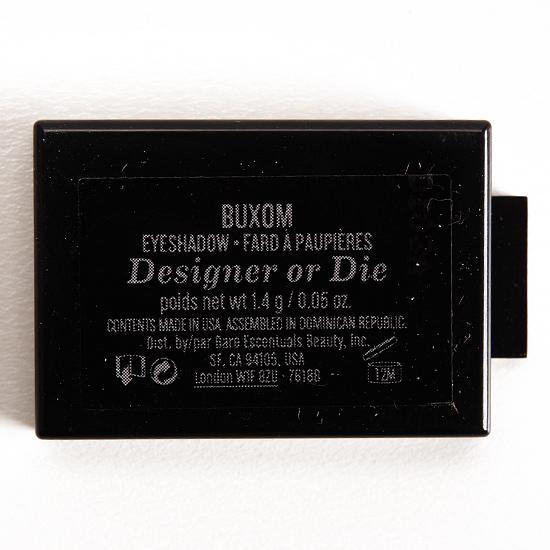 BUXOM Designer or Die Eyeshadow