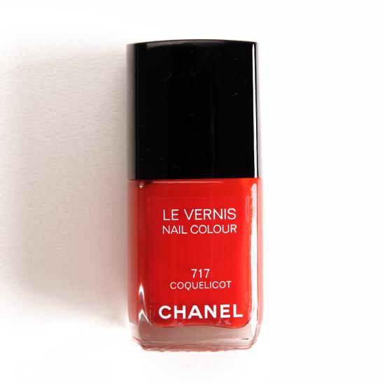 Chanel Coquelicot (717) Le Vernis Nail Colour