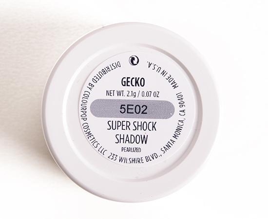 ColourPop Gecko Super Shock Shadow