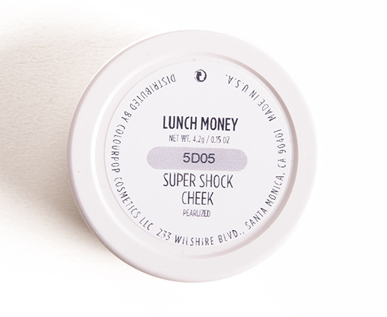 ColourPop Lunch Money Super Shock Cheek