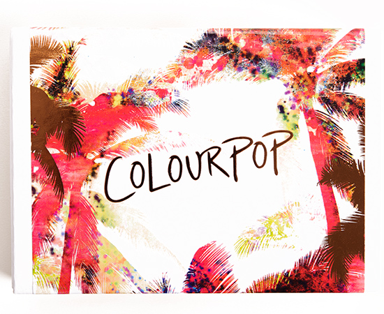 ColourPop Mondays in Malibu Super Shock Shadow Set