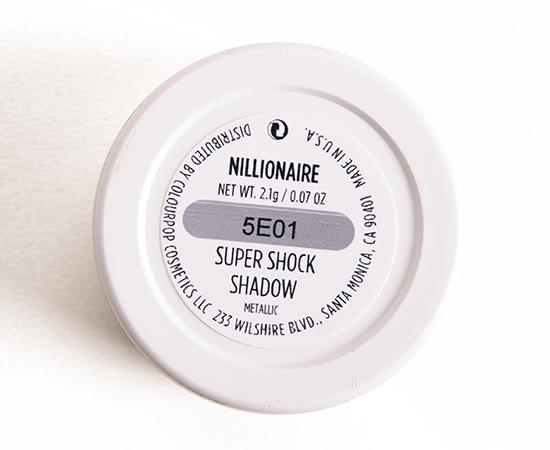 ColourPop Nillionaire Super Shock Shadow