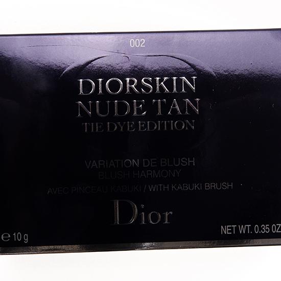 Dior Coral Sunset (002) Diorskin Nude Tan Tie Dye Blush